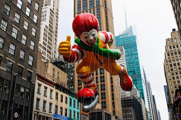 Ronald McDonald macys thanksgiving day parade