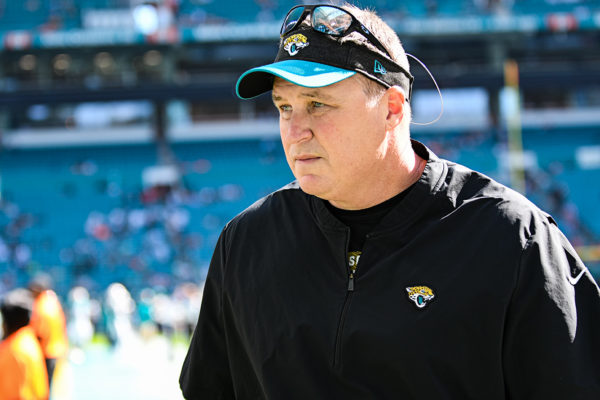 Jacksonville Jaguars head coach Doug Marrone