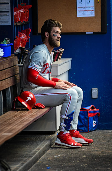 Philadelphia Phillies right fielder Bryce Harper (3)