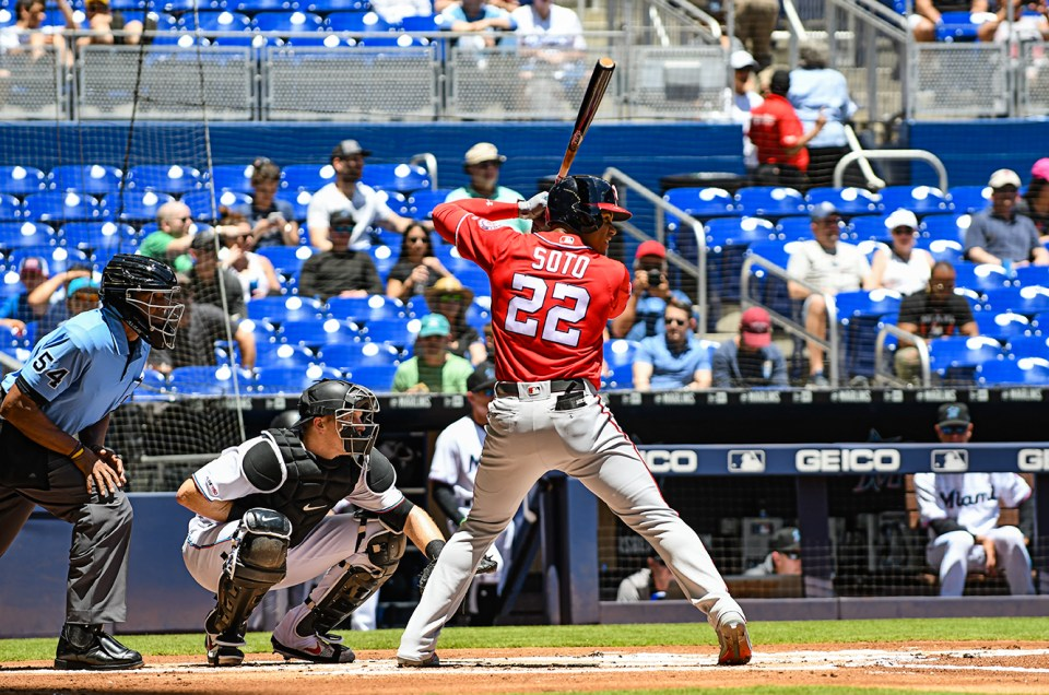 Nationals vs Marlins – Game Photos