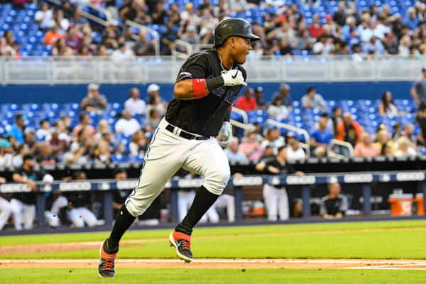 Miami Marlins second baseman Starlin Castro #13