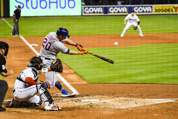 New York Mets first baseman Pete Alonso #20