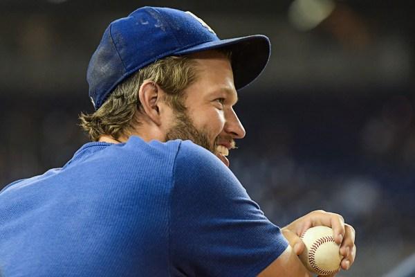 LA Dodgers starting pitcher Clayton Kershaw
