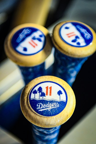 Los Angeles Dodgers bats