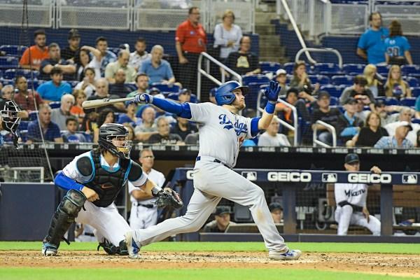 LA Dodgers first baseman Max Muncy