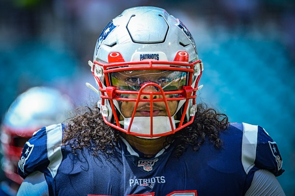 New England Patriots defensive tackle Danny Shelton #71 | New England Patriots vs. Miami Dolphins | September 15, 2019 | Hard Rock Stadium