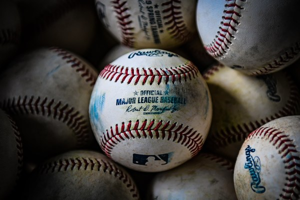 Major League baseballs