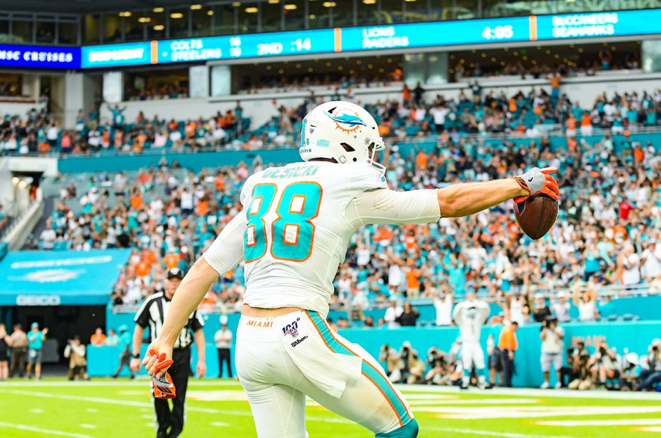The Miami Dolphins Beat the NY Jets for Their First Win of 2019