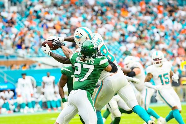 Miami Dolphins wide receiver Preston Williams