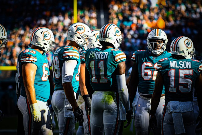 Miami Dolphins wide receiver DeVante Parker
