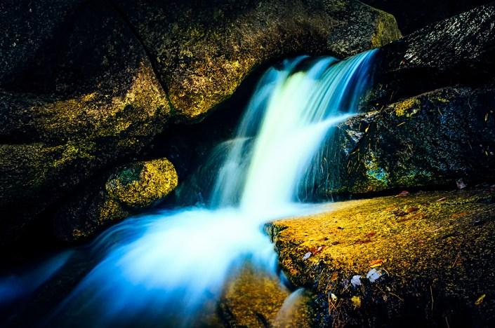 New England waterfalls