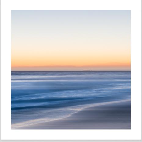 A fine art abstract landscape photograph
