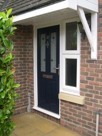 New Composite Door & Porch  JCS External Solutions