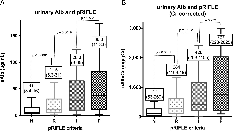Urinary Albumin Levels Predict Development of Acute Kidney