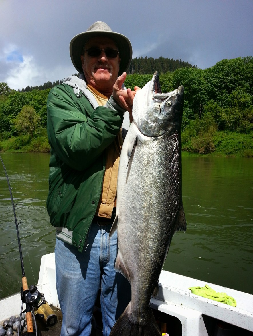 Reedsport Salmon Fishing