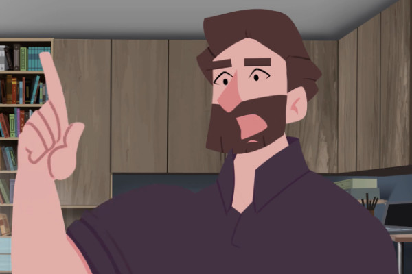 """Mac"" in the new Gospel Animation for the Deaf"