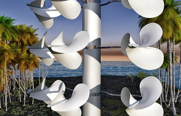 Ils ont créé une éolienne silencieuse qui ne tue pas les oiseaux!