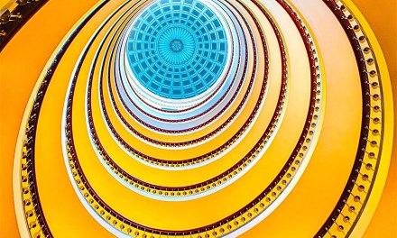 30 escaliers en spirale absolument incroyables dont la beauté vous donnera le vertige