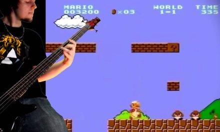 Ce guitariste fan de métal rend hommage à 42 ans de jeux vidéo en reprenant les plus célèbres thèmes musicaux
