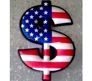Pourquoi le dollar est-il représenté par un S barré et non pas par un D ?