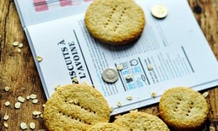 Biscuits à l'avoine et au gingembre