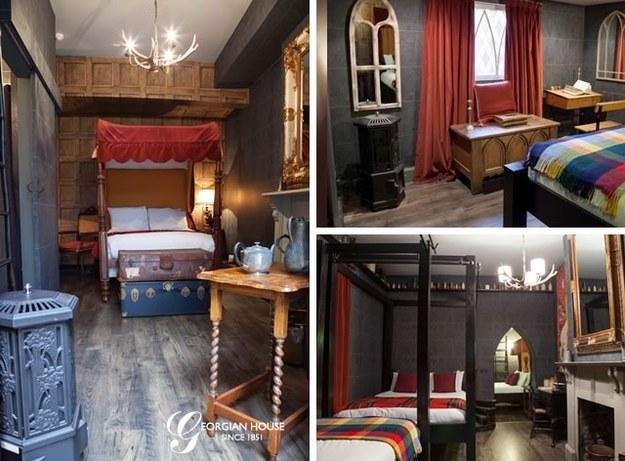 A Londres, vous pouvez désormais passer la nuit dans un hôtel Harry Potter. Qui est chaud pour un petit tour à Poudlard ?