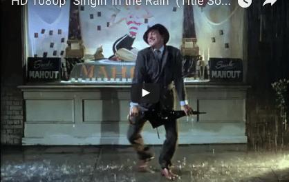 Jour pluvieux? Le JBN a la solution: «Singin' in the Rain» 1952 ~ Gene Kelly