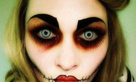 22 maquillages terriblement géniaux pour une soirée d'Halloween des plus effrayantes