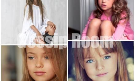 Kristina Pimenova, élue la plus belle jeune mannequin du monde ! Elle est seulement âgée de 6 ans, ça promet !