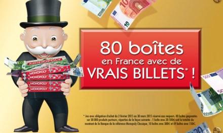 Une Française découvre 20.580 euros dans sa boîte de Monopoly