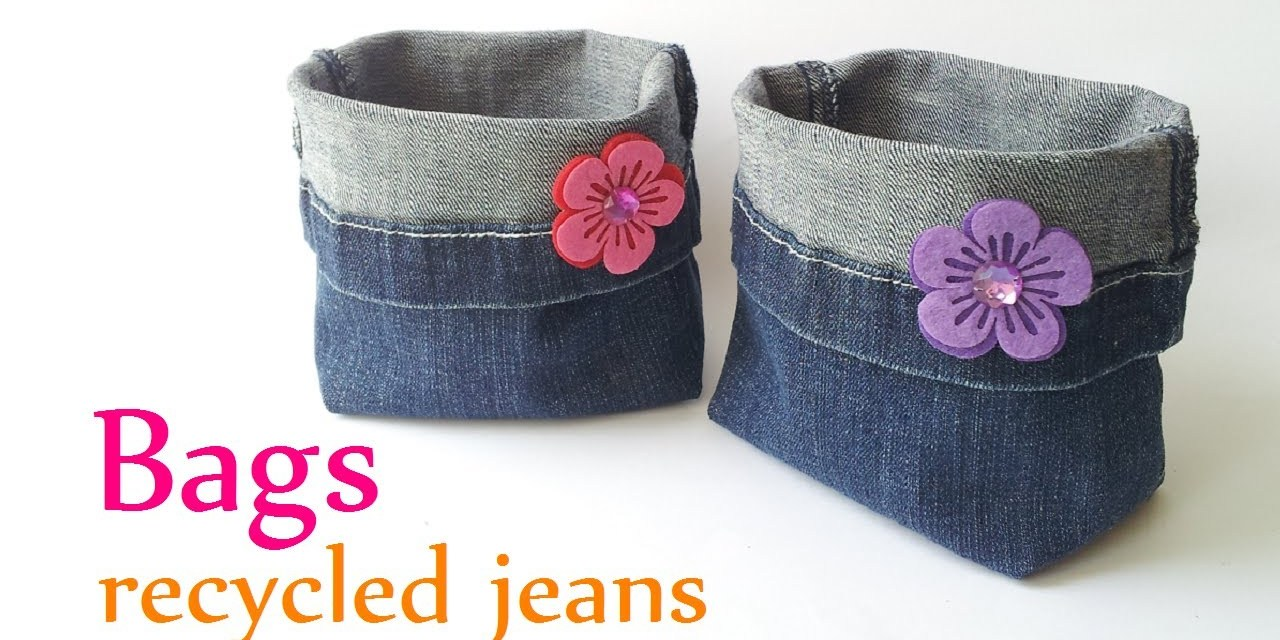 Comment Transformer Ses Vieux Jeans En Objet Déco Rangement Joli