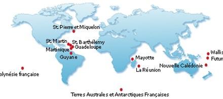 L'outre-mer français : présentation et chiffres – la population ultramarine apparaît jeune et dynamique et représente un métissage culturel étonnant.