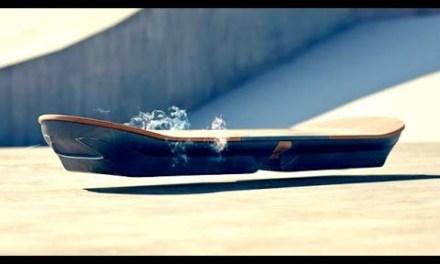 Lexus présente en vidéo son skateboard à lévitation inspiré de Retour vers le Futur