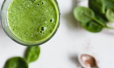 Bienfaits d'un jus vert le matin.