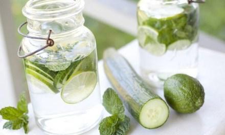 Ce que l'eau au concombre fait à votre corps