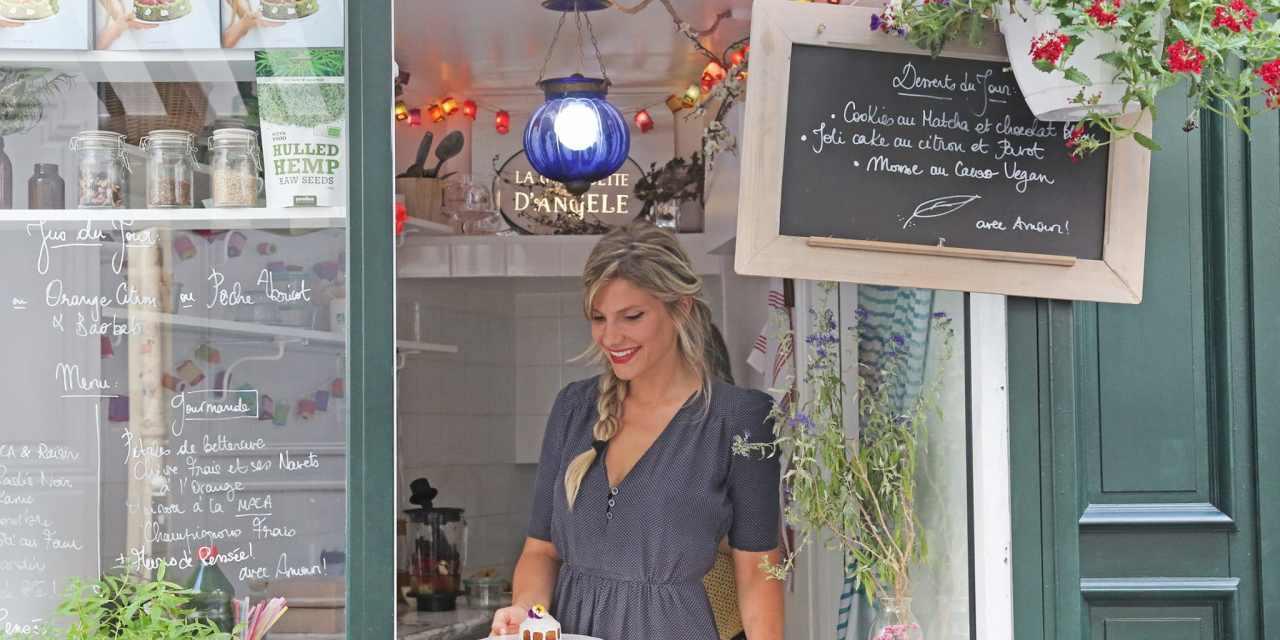 L'INTERVIEW POSITIVE D'ANNE BOUQUET – La Guinguette d'Angèle : la cuisine santé et branchée !