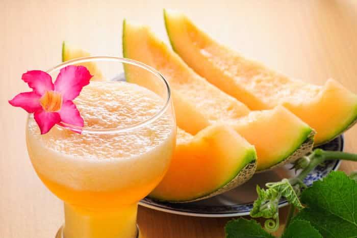 Smoothie au melon!