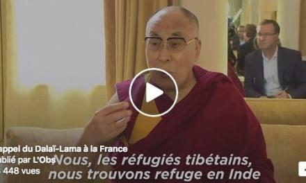 L'appel du Dalaï-Lama à la France