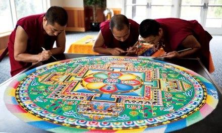 Le mandala tibétain.