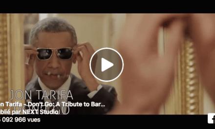 Spiros Lena a été inspiré par  la chanson de Jon Tarifa pour rendre un hommage vidéo au président le plus cool que le monde ait jamais vu !