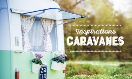 10 caravanes superbement rénovées. Un retour au sources champêtre et stylé.