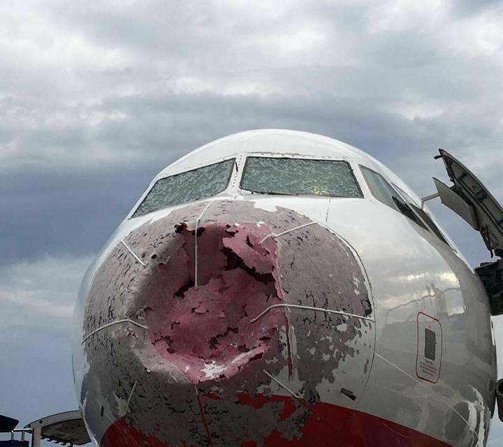 Turquie: Un pilote réussit un atterrissage à l'aveugle sous un orage de grêle
