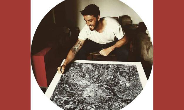 Maxence Doré – Un artiste en accord avec l'univers. On adore!