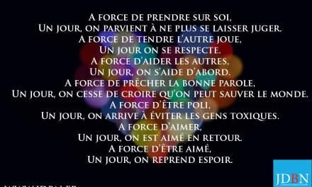 A force…