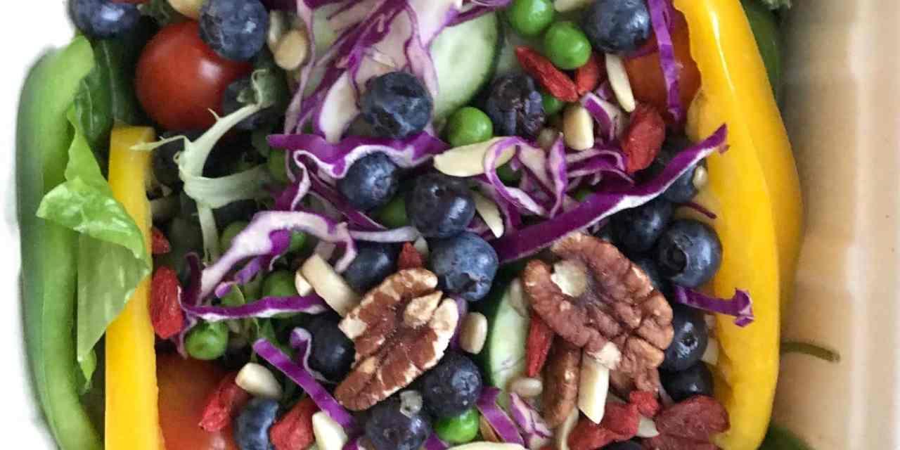 Salade composée diététique