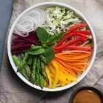 Recette: Bol arc en ciel aux légumes