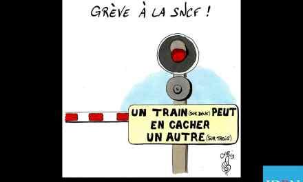 Un train…