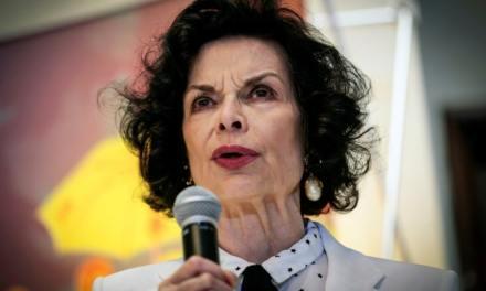 Bianca Jagger dénonce la « guerre sale » contre le peuple au Nicaragua