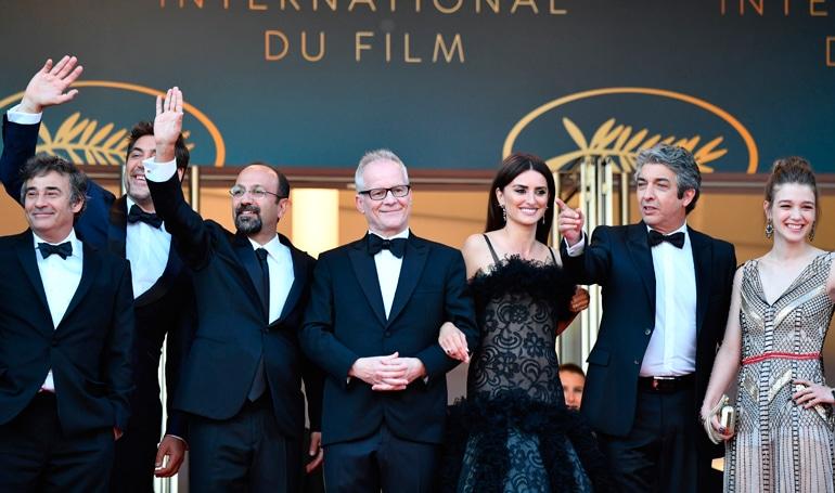 Festival de Cannes : Conférence de Presse pour le film: TODOS LO SABEN de ASGHAR FARHADI