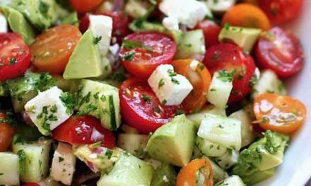 Recette: Salade healthy